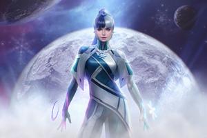 Luna Snow Marvel Future Fight 4k Wallpaper