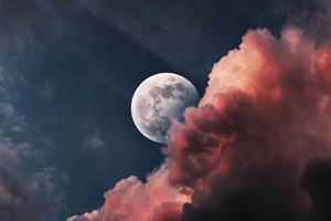 Lunar Moon 4k