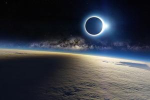 Lunar Sky Space 4k Wallpaper
