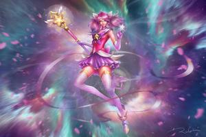 Lux League Of Legends Artwork 4k