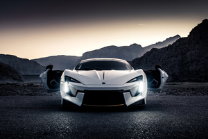 Lykan Sport Car Wallpaper