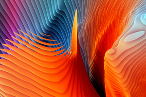 Mac OS Sierra Abstract Shapes Wallpaper