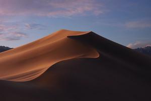 Macos Mojave Dusk Mode Stock Wallpaper