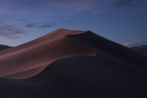 Macos Mojave Evening Mode Stock