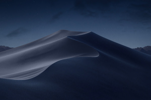 Macos Mojave Night Mode Stock Wallpaper