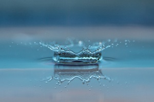 Macro Drop Of Water Wallpaper