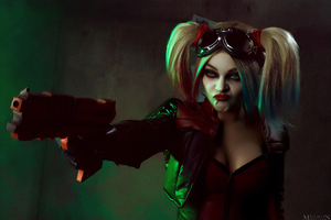 Mad Harley Quinn Cosplay 4k