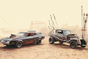 Mad Max Fury Road 5k Cars