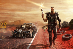 Mad Max Mel Gibson Wallpaper