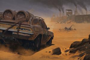 Mad Max4k Wallpaper