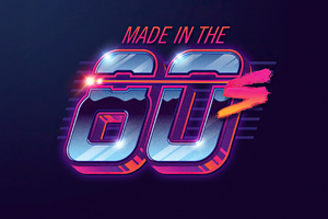 Made In The 80s Wallpaper
