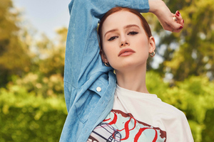 Madelaine Petsch Shein Fall Collection Wallpaper