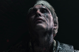 Mads Mikkelsen Death Stranding Video Game 4k