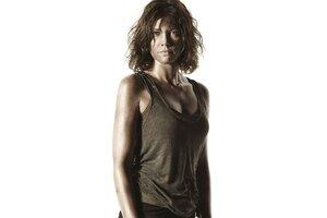 Maggie Lauren Cohan In Walking Dead Wallpaper
