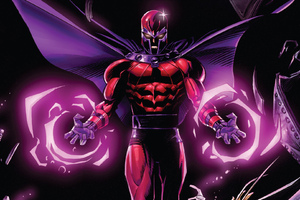Magneto Marvel Comics Artwork Wallpaper