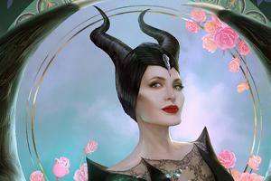 Maleficent 2 Movie Art Wallpaper