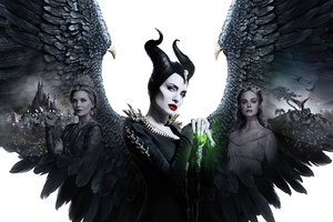 Maleficent Mistress Of Evil 5k 2019 Poster Wallpaper