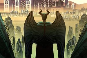 Maleficent Mistress Of Evil Poster Art 4k Wallpaper