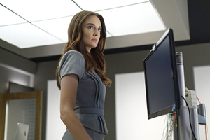 Mallory Jansen In Agents Of Shield Wallpaper