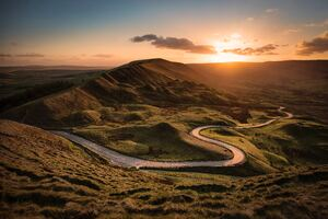 Mam Tor Castleton United Kingdom 8k
