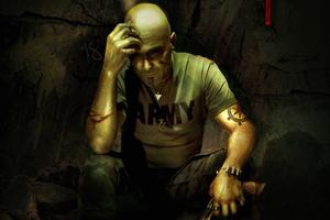 Man Apocalypse Art Wallpaper