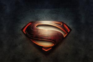 Man Of Steel 4k Logo