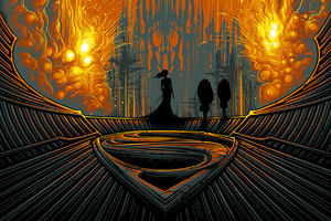 Man Of Steel Artistic Poster