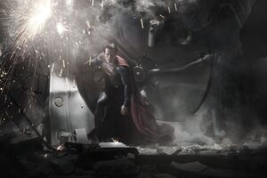 Man Of Steel Superman 4k