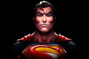 Man Of Steel Superman Art 4k