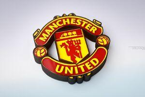 Manchester United 3D Logo