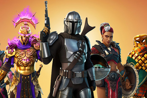 Mandalorian Fortnite 4k
