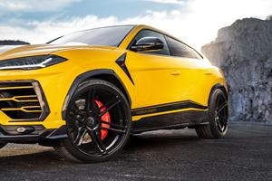 Manhart Lamborghini Urus 800 2019 Front Wallpaper