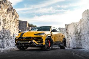 Manhart Lamborghini Urus 800 2019 Wallpaper