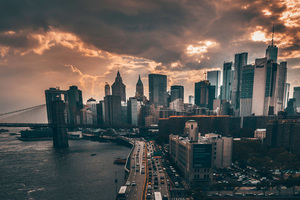 Manhattan New York City 4k Wallpaper