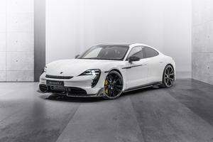 Mansory Porsche Taycan Turbo S 2021 Wallpaper