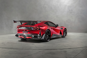 Mansory Stallone 2018 Rear View