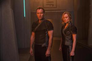 Mar Vell And Carol Danvers In Captain Marvel Movie 2019