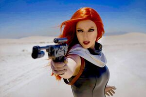 Mara Jade Cosplay Wallpaper