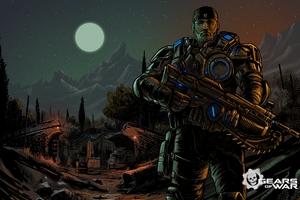 Marcus Gears Of War 4