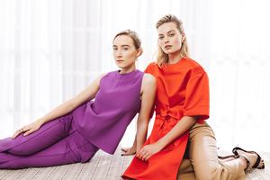 Margot Robbie And Saoirse Ronan