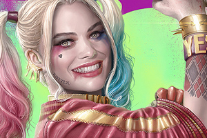 Margot Robbie Newart