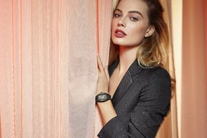 Margot Robbie Richard Mille 2020 4k Wallpaper