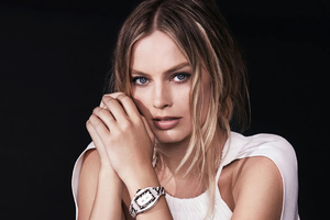 Margot Robbie Richard Mille 2020 Wallpaper