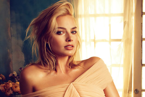 Margot Robbie Vogue Magazine 2020 Wallpaper