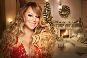 Mariah Carey Magical Christmas Special 2020 Wallpaper