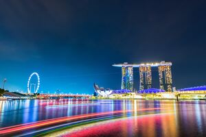 Marina Bay Sands Singapore 5k Wallpaper