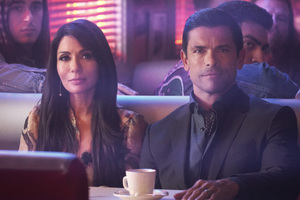 Mark Consuelos As Hiram Lodge Marisol Nichols As Hermione Lodge Riverdale