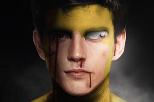 Mark Grayson As Invincible Wallpaper