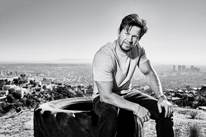 Mark Wahlberg Mens Health 2017 Monochrome