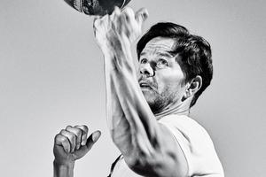 Mark Wahlberg Mens Health Monochrome 2017